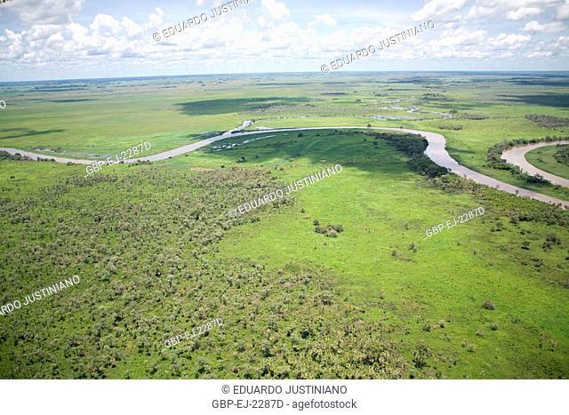 Miranda River, Miranda, Mato Grosso do Sul, Brazil