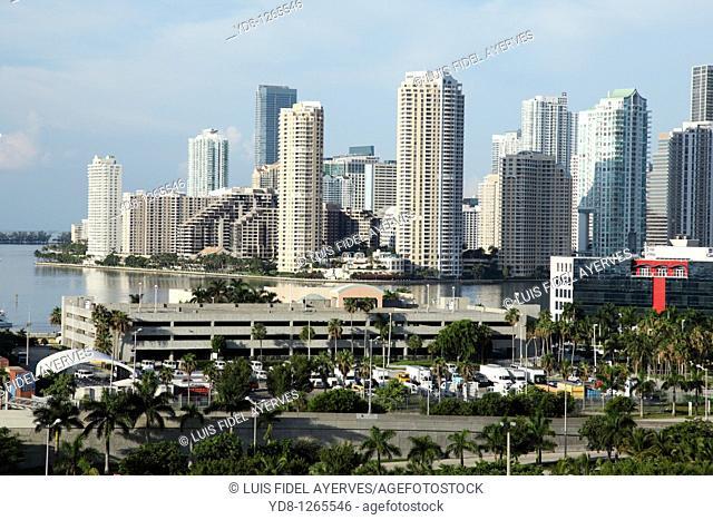 Buildings in Miami Beach