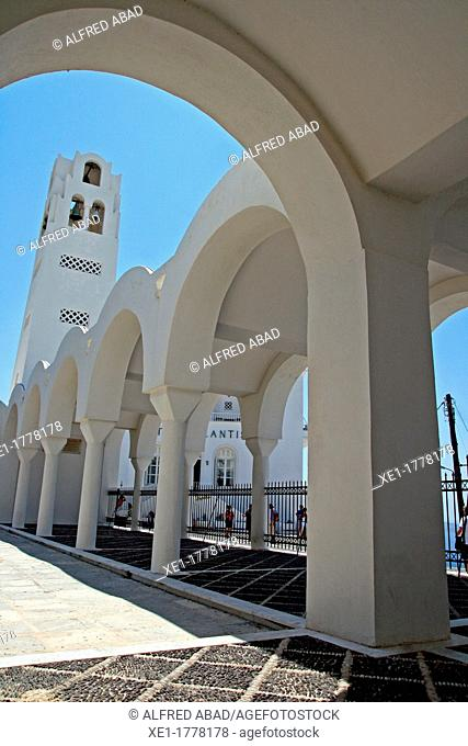 Candlemas of the Lord's Cathedral, Fira, Santorini, Greece