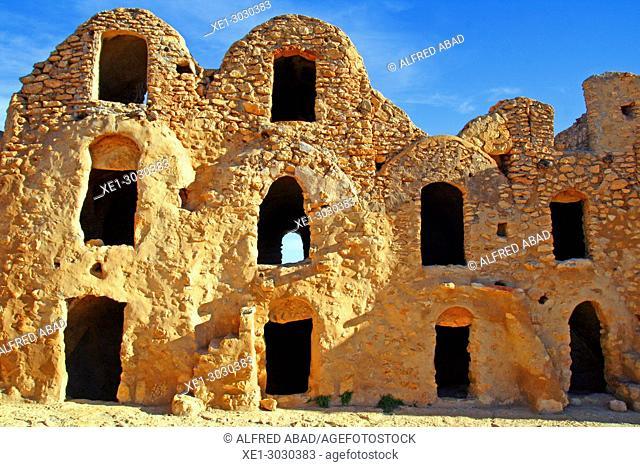 Ksar Jonamaa, traditional Berber architecture, Tunisia