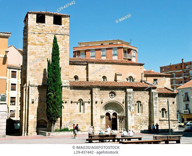 Santiago del Burgo church. Zamora. Spain