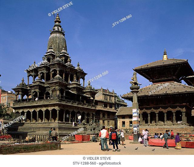 Asia, Durbar, Durbar square, Holiday, Landmark, Nepal, Patan, Tourism, Travel, Vacation