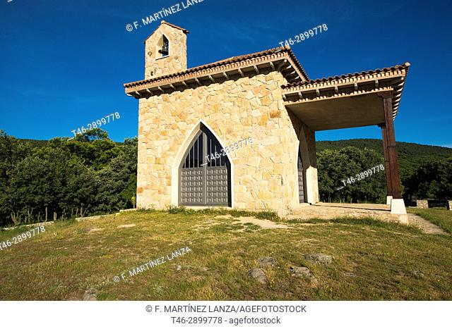 Hermitage of San Isidro, In the place of the eras of the meadow in Casillas Avila