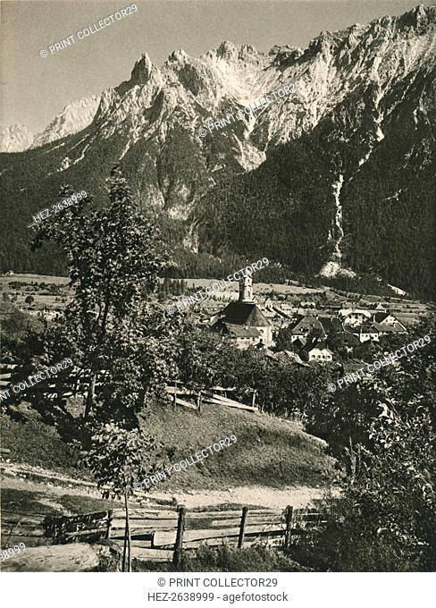 'Mittenwald: Karwendel-Gebirge', 1931. Artist: Kurt Hielscher
