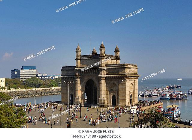 India, South India, Asia, Maharashtra, Mumbai, Bombay, City, Colaba, District, Gateway Of India, South India, Building, Gateway, architecture, history, symbol