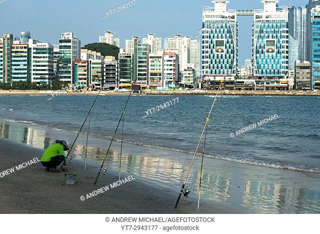 Gwangan beach, Pusan, South Korea
