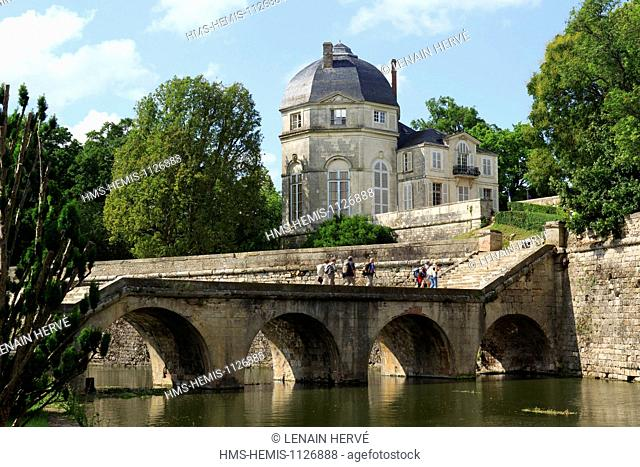France, Loir et Cher, Loire Valley, listed as World Heritage by UNESCO, the castle