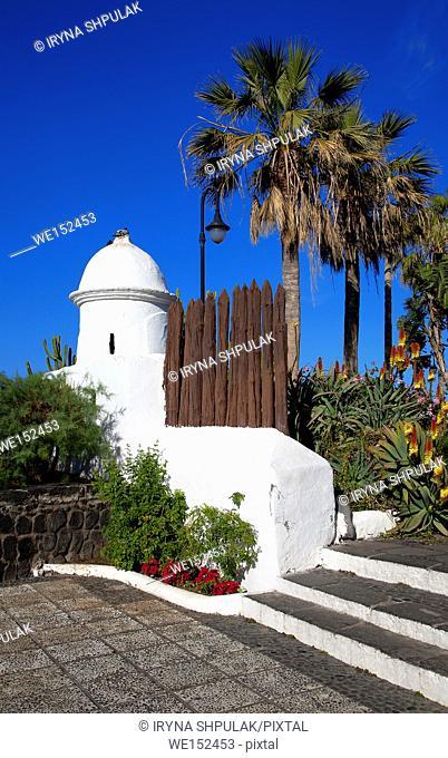 Ermita de San Telmo, Puerto de la Cruz, Island Tenerife, Canary Islands, Spain