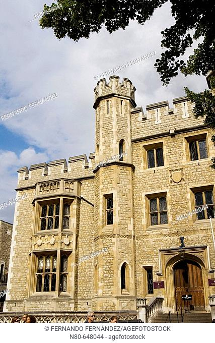Fusiliers's Museum, Tower of London, London. England, UK