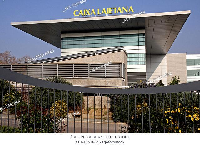 headquarters of Caixa Laietana, Mataro, Catalonia, Spain