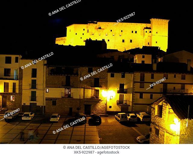 An ancient village in Aragon, Spain