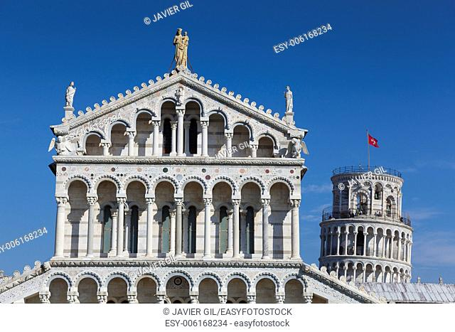 Cathedral of Pisa, Piazza dei Miracoli, Pisa, Tuscany, Italy