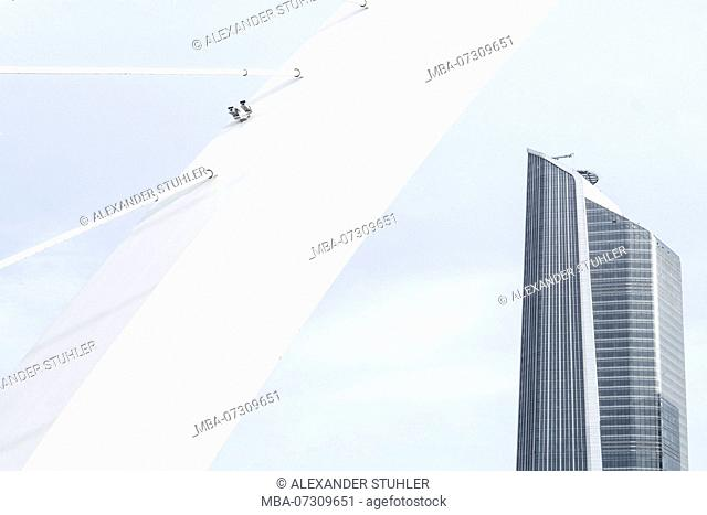 A skyscraper in China's metropolis Nanjing by Zaha Hadid