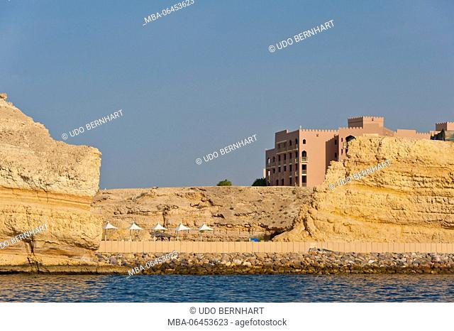 Arabia, Arabian peninsula, Sultanate of Oman, Muscat, Shangri-La's Barr Al Jissah Resort and spa