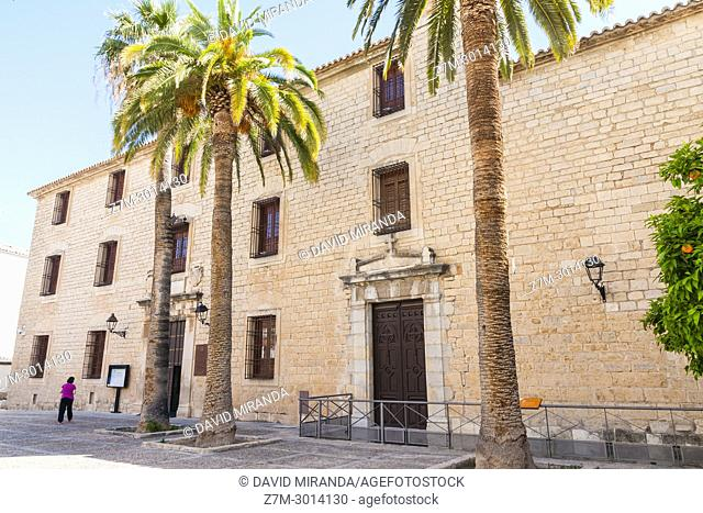 Arab baths and Palacio de Villardompardo. City of Jaen. Andalusia. Spain