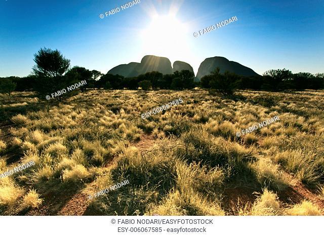 The Olgas or Kata Tjuta, Australia