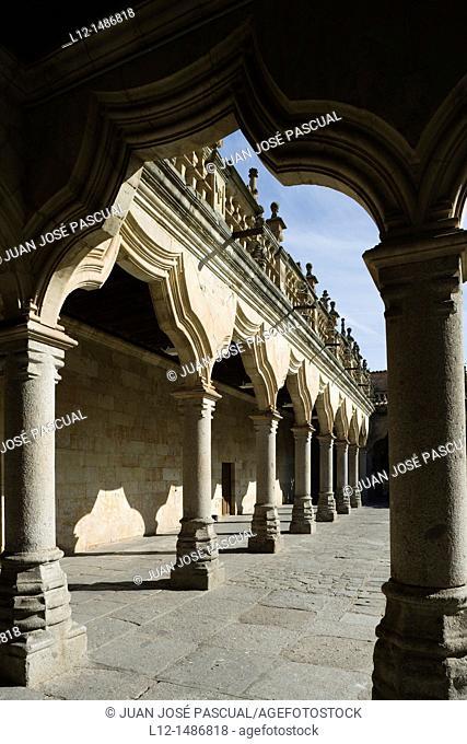 Salamanca University, Minor Schools yard, Patio de las Escuelas Menores, Salamanca, Castilla y León, Spain