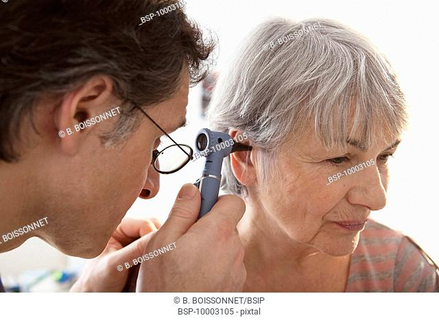 EAR NOSE &THROAT, ELDERLY PERSON