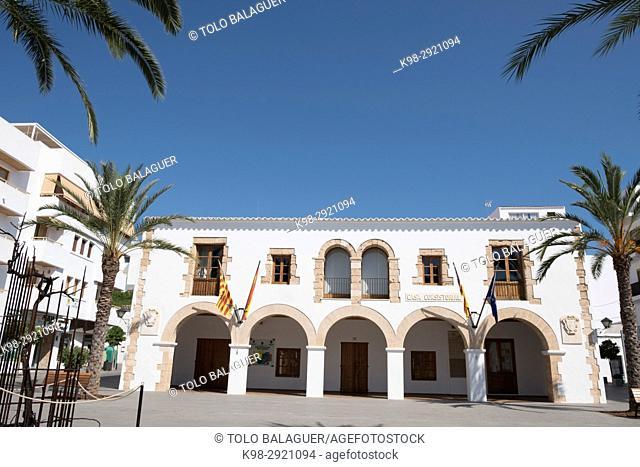 Town Hall, Santa Eulària des Riu, Ibiza, Balearic Islands, Spain