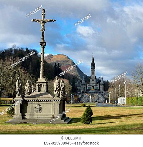The Basilica of our Lady of the Rosary is a Roman Catholic church and minor basilica in Lourdes