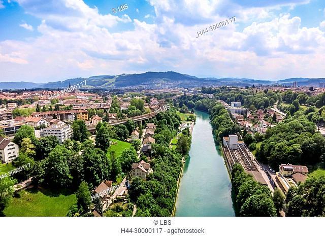 Luftaufnahme Stadt Bern