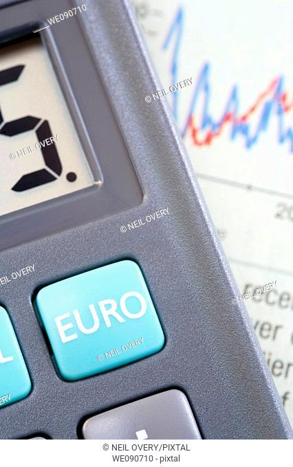 Calculator finance concept