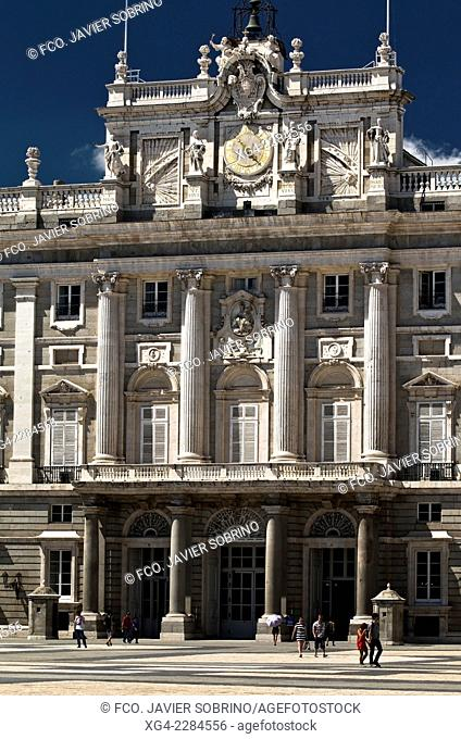 Royal Palace of Madrid - Comunidad de Madrid - Spain - Europe