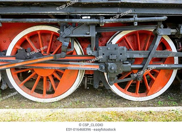 Old locomotive in Tuscany