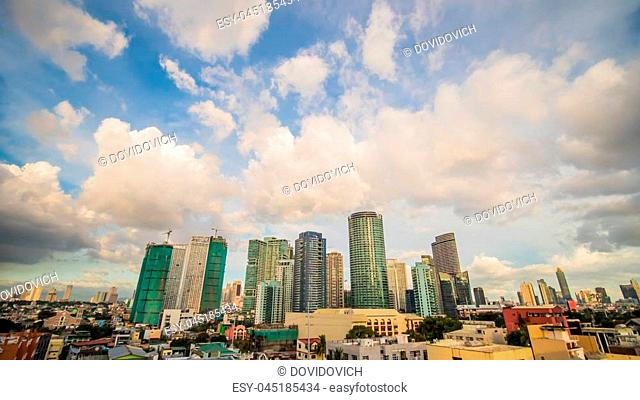 Makati is a city in the Philippines Metro Manila region and the country s financial hub. It s known for the skyscrapers