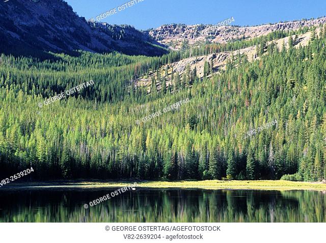 Strawberry Lake, Strawberry Mountain Wilderness, Malheur National Forest, Oregon