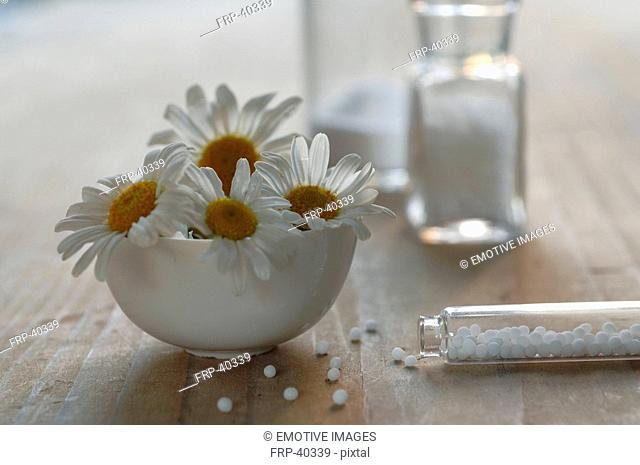 Homeopathy: globules