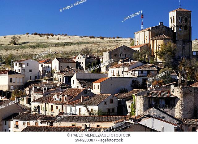 View of Sepulveda town in Segovia province, Spain