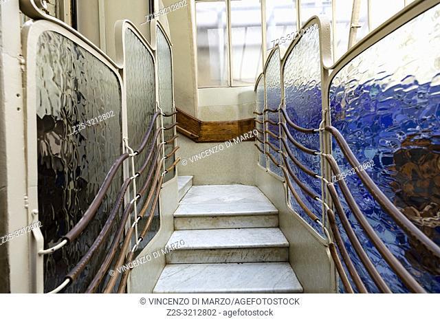 Interior of the Casa Batlló Barcellona Spain