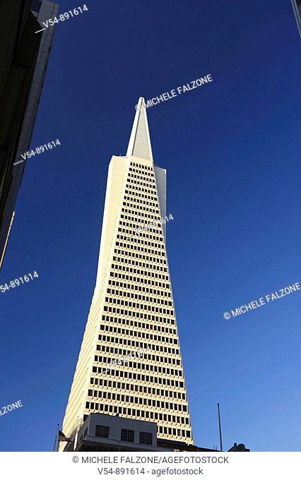Usa, California, San Francisco, Transamerican Pyramid