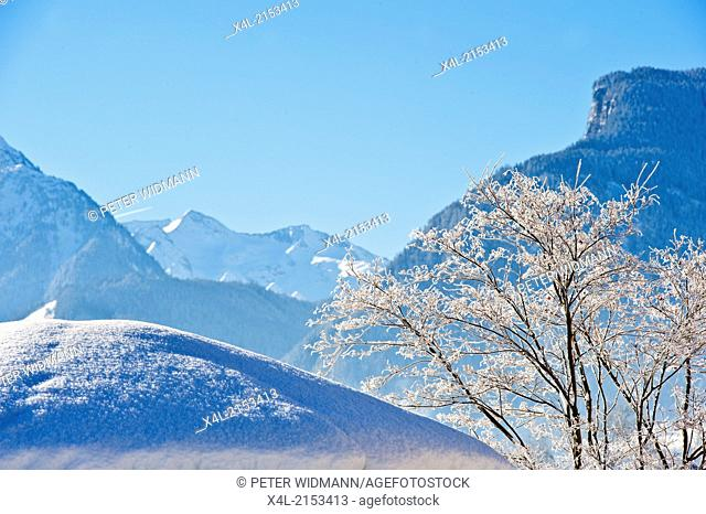 winter landscape, Austria, Tyrol