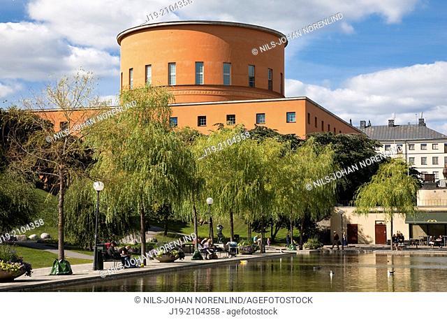City Library, Stockholm, Sweden