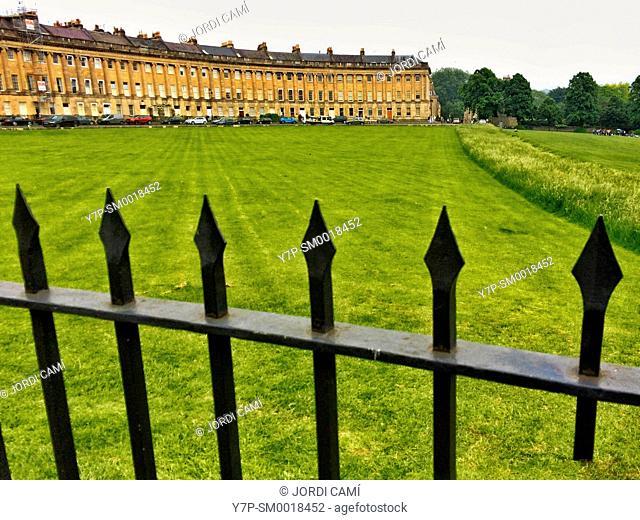The Royal Crescent ,Bath. Somerset. England. United Kingdom