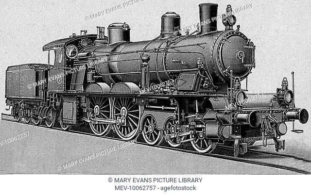 Express locomotive built by Krauss & company, Munchen