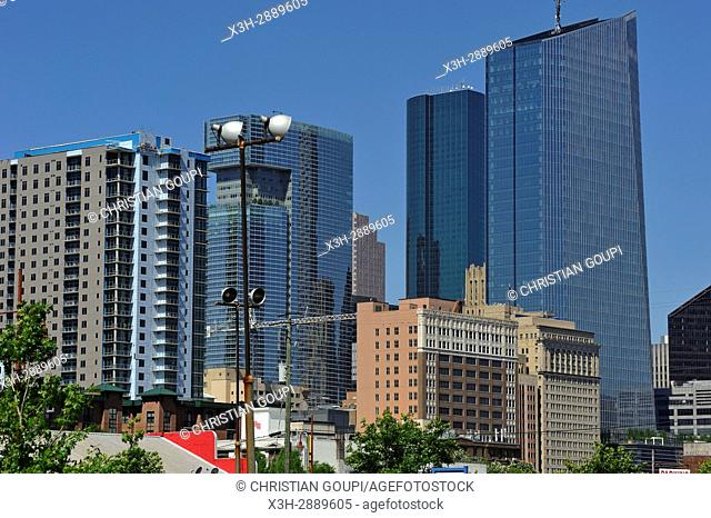 Downtown Houston, Texas, United States of America, North America