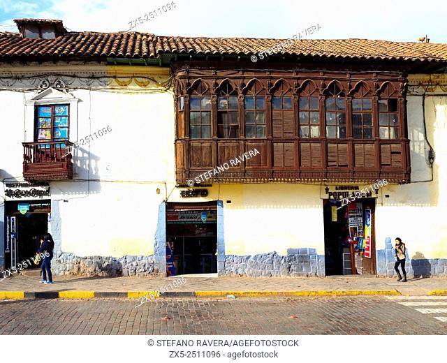 Street scene - Cusco, Peru