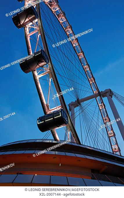 Singapore Flyer, the tallest Ferris wheel in the world, Singapore
