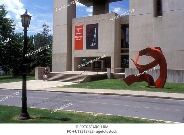 New York, university, Ithaca, Finger Lakes, Herbert E. Johnson Museum of Art at Cornell University in Ithaca