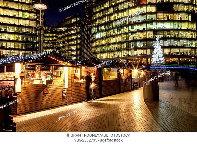 More London Christmas Market, London, England