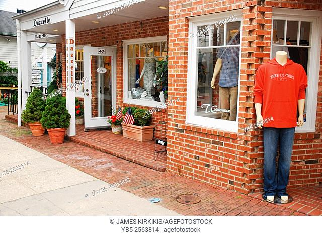 An Upscale Casual Store in Downtown South Hampton, Long Island
