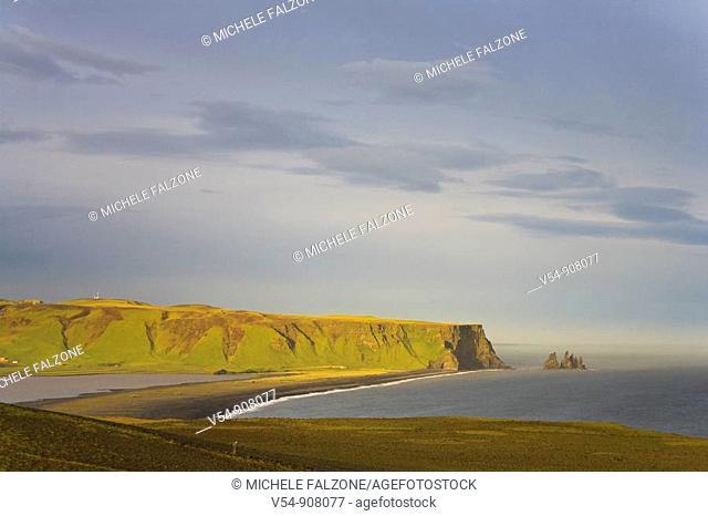 Black Sand Beach, Dyrholaey, South Coast, Iceland