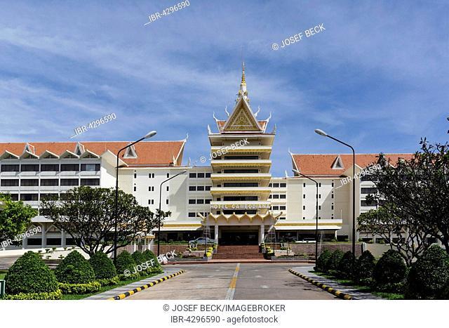 Cambodiana Hotel, Preah Sisowath Quay, Phnom Penh, Cambodia