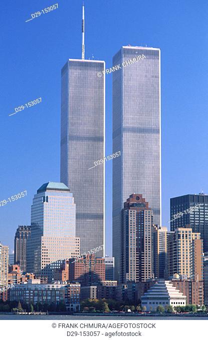World Trade Center. New York City. USA