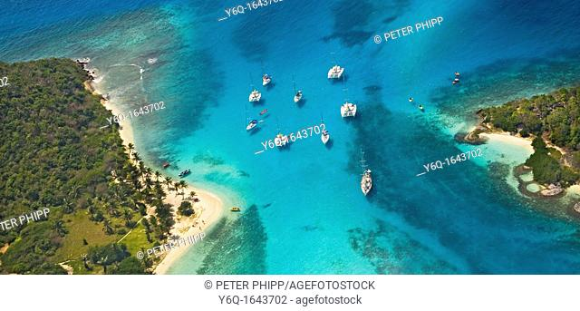 The 'Tobago Cays' in the Grenadines  Caribbean