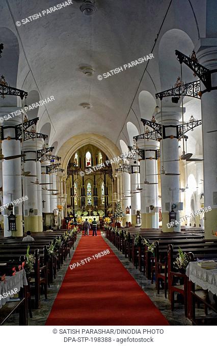 St thomas cathedral, church fort, mumbai, maharashtra, india, asia