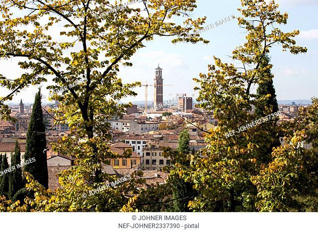 Verona cityscape, Italy